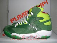 NEW REEBOK SHAQ ATTAQ Christmas SZ 9 - 10 Sonic Green/Red V61428 Shaqnosis Oneal