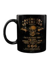 Avenged Sevenfold Seize The Day Boxed Black A7X Mug