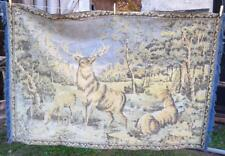 Vintage French Wall Hanging Home Decor Tapestry 180 x118cm deer bambi wall hang