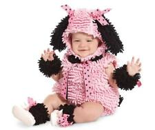 New Girls Pink Poodle Halloween Costume - Infant/Toddler Size 12-18 Months
