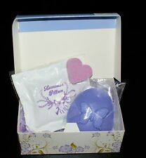 Lavender Aromatherapy gift set Handmade soap/sleep pillow Gift boxed
