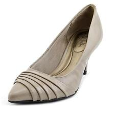 Life Stride Stacy Women  Pointed Toe Synthetic Gray Heels NWOB