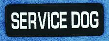 "Hook Back Sew On SERVICE DOG PATCH 2X6"" Assistance Medical Disabled Support"