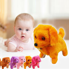 New Robotic Cute Electronic Walking Pet Dog Puppy Kids Toy Gift With Music Light