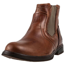 Caterpillar Armitage Sugar Mens Chelsea Boots Brown New Shoes