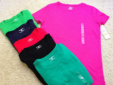 JONES NEW YORK SPORT Size S SMALL  Solid Cotton T-SHIRT NWT $29 MSRP Pick Colors