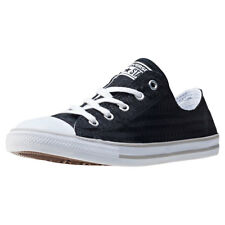 Converse Chuck Taylor All Star Dainty Womens Trainers Black White New Shoes