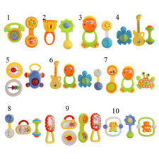 Kid Baby Shakers Handbell Rattles Jingle Ring Music Instrument Musical Sound Toy