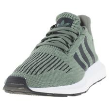 adidas Swift Run Mens Trainers Green Black New Shoes