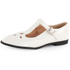 Dolcis Mary Janes T Bar Womens Sandals White New Shoes