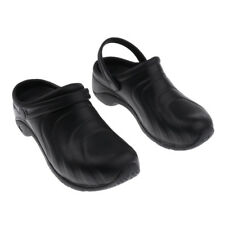 MENS WOMENS GARDEN WORK HOSPITAL CHEF SHOES SOFT INSOLE BEACH MULES CLOGS