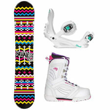 Airwalk Blanket Black Cosmo Womens Complete Snowboard Package 2018