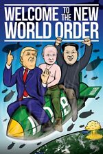 Welcome To The New World Order Poster 61x91.5cm