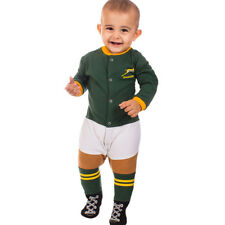 Springboks Rugby Infant Footysuit Sizes 000 - 1