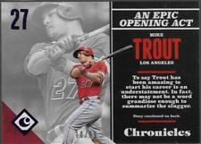 2017 Panini Chronicles Baseball Cards Pick From List (Includes Rookies)