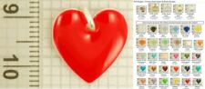 Heart shaped & themed decorative pendants, various designs & necklace options