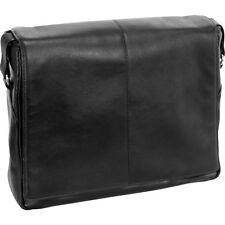 """Siamod Vernazza Collection 13.3"""" Leather Messenger Bag"""