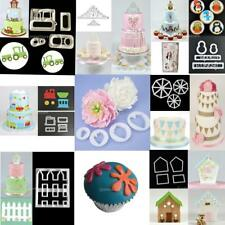 Various Fondant Cake Decorating Plunger Cookie Cutter Kitchen Paste Mold Tool