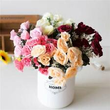 Artificial Fake Roses Flower For Wedding Car Marriage Room Decoration Decorative