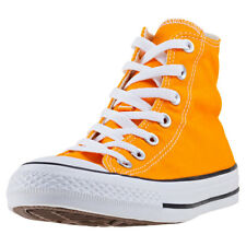 Converse Chuck Taylor All Star Hi Womens Trainers Orange New Shoes