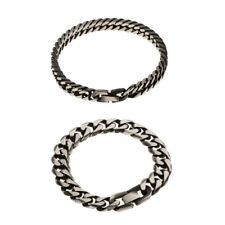 316L Stainless Steel Chain Bracelet Biker Mens Wristband Link Chain Jewelry