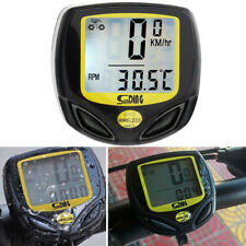 Waterproof Digital Wireless Cycle Bike Bicycle Computer Odometer Speedometer US
