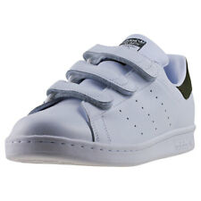 adidas Stan Smith Cf Mens Trainers White Olive New Shoes