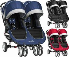 Baby Jogger CITY MINI DOUBLE STROLLER/BUGGY/PUSHCHAIR Baby Travel New