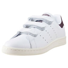 adidas Stan Smith Cf Mens Trainers White Burgundy New Shoes