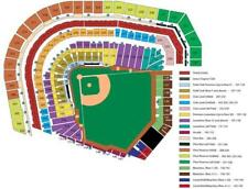 4 TICKETS SAN DIEGO PADRES @ SF GIANTS 6/23 *Sec 320 Row 1 AISLE + CONCESSIONS*