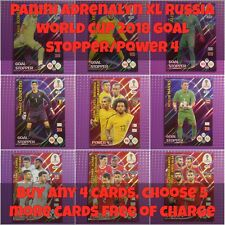 Panini Adrenalyn XL Russia 2018 World Cup - Power 4/Goal Stopper Card **New**