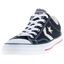 Converse Star Player Ox Mens Trainers Black White New Shoes