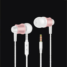ES7 Rose Gold Genuine In-Ear Stereo 3.5mm Handsfree Headset Earbuds For HUAWEI