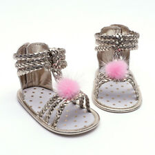 Summer Kids Baby Girl Soft Sole Sandals Pu Leather Infant Shoes Prewalker 0-12M