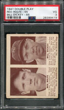 1941 DOUBLE PLAY RED ROLFE #65 BILL DICKEY #66 PSA 3 (9419)