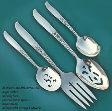 ALWAYS aka WILDWOOD BuY the Piece Oneida Rogers 1958 Silverplate Flatware