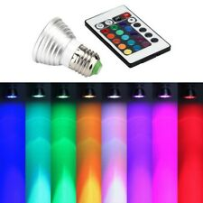 E27 RGB LED 16Color Multicolor Changing Party Disco Lamp Light Bulb IR Remote #b