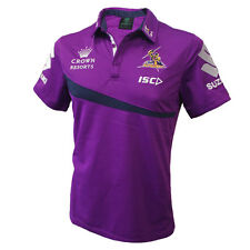 NRL Melbourne Storm 2017 Players Polo - ADULT Size S - 3XL  **SALE PRICE**