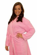 Terry Cloth Robe 100% Cotton Terry Kimono Bathrobe Terry Kimono Collar Spa Robe