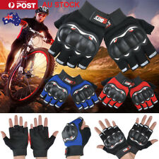 Hard Knuckle Half Finger Gloves Airsoft Tactical Fingerless Motorcycle Cycling