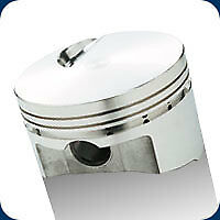 139483 SRP Pistons Open Chamber Flat Top 515 BB Chevy 4.530 Bore 9.0:1 Comp
