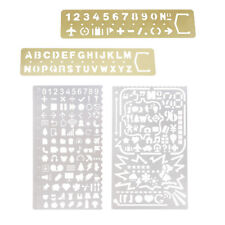Hollow Metal Ruler Drafting Drawing Stencil Template for Kids DIY Crafts
