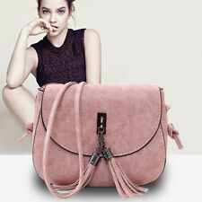 Womens Sweet Shoulder Fashion PU Leather Messenger Cross Body Purse Bag Handbag