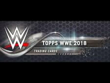 2018 Topps WWE Wrestling Blue or Silver Parallel Cards Pick From List