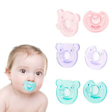 Newborn Kids Silicone Orthodontic Soother Dummy Pacifier Infant Teat Nipple
