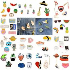new Cartoon Fruit DIY Collar Brooches Pins Badge Womens Men Party Gift Jewelry