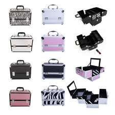 Aluminum Makeup Nail Tattoo Storage Box Large Cosmetic Organizer Case 4 Color US