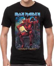 Iron Maiden Legacy of the Beast Heavy Thrash Metal Music Band T Shirt IRM10736