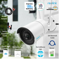Reolink RLC-410W Security Camera Ip Wireless Wifi Surveillance Outdoor 4Mp 5Mp