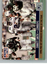 1991 Pro Set Football Cards Pick From List Includes Rookies 201-400